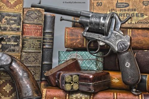 Belgian 12mm Pinfire Revolver