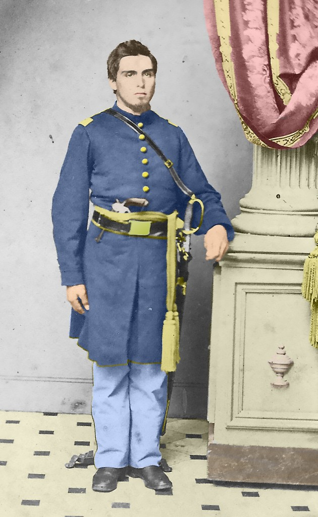 Civil-War-Soldier-with-Pinfire-COLORIZED