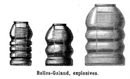 explosive galand bullets