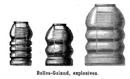 explosive galand bullets