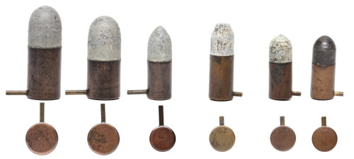 explosive pertuiset pinfire cartridges
