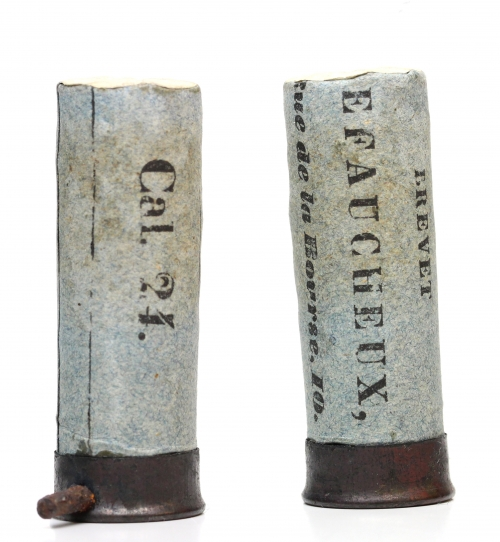 picture of Casimir Lefaucheux pinfire cartridge