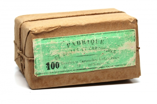Picture of Charles Fusnot (Fabrique de Balles et Cartouches) Pinfire Cartridge Box