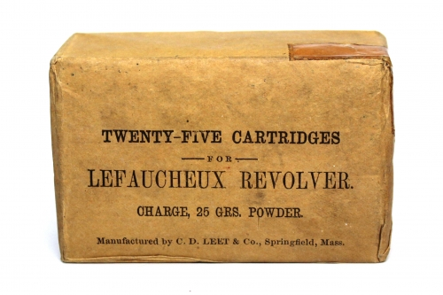 Picture of C. D. Leet Pinfire Cartridge Box