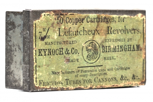 Picture of Kynoch & Co. Pinfire Cartridge Box