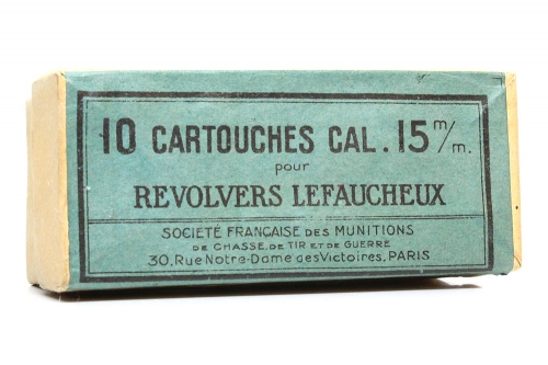 Picture of Gevelot S. A., (Societe Francaise des Munitions) Pinfire Cartridge Box