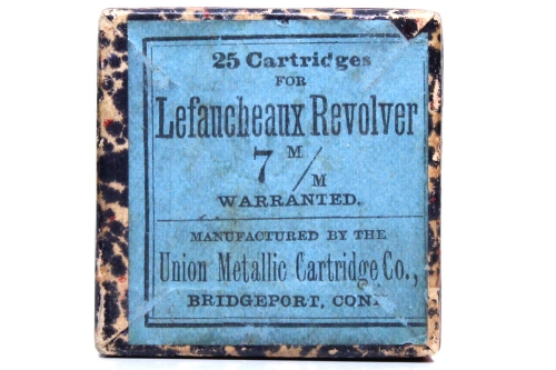 Union Metallic Cartridge Company Pinfire Box