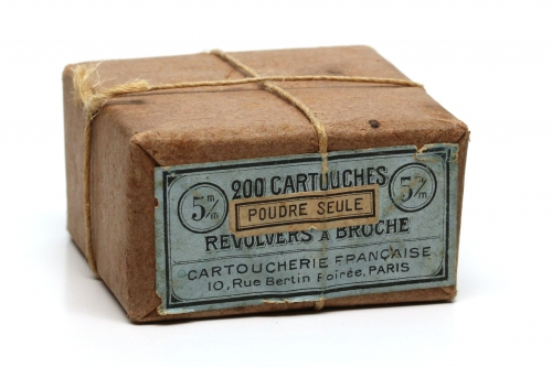 Picture of Cartoucherie Français Pinfire Cartridge Box