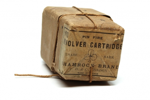 Picture of Frank Dyke & Co. Pinfire Cartridge Box
