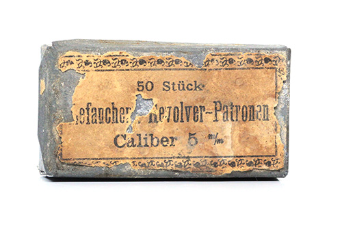 Picture of Unknown Manufacturer Pinfire Cartridge Box