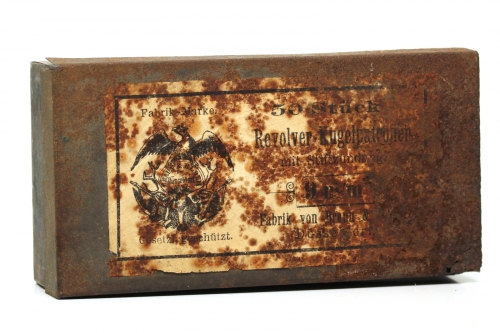 Picture of Braun & Bloem Pinfire Cartridge Box