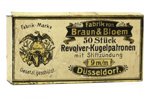 Braun & Bloem Pinfire Box