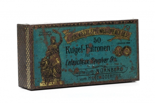 Picture of Rheinisch-Westf�lischen Sprengstoff-Fabriken A.-G. Pinfire Cartridge Box