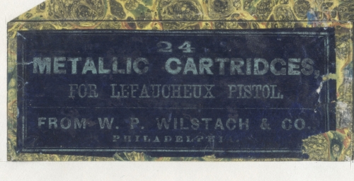 Picture of Allen & Wheelock Pinfire Cartridge Box