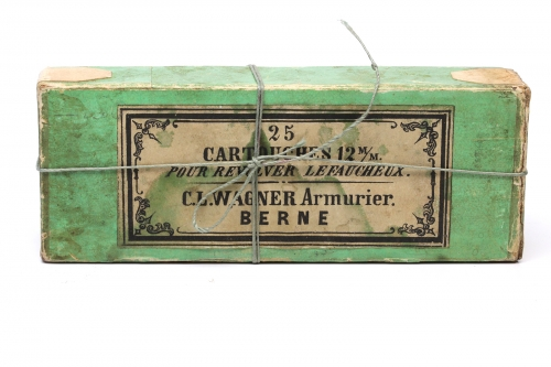 Picture of Karl Ludwig Wagner Pinfire Cartridge Box